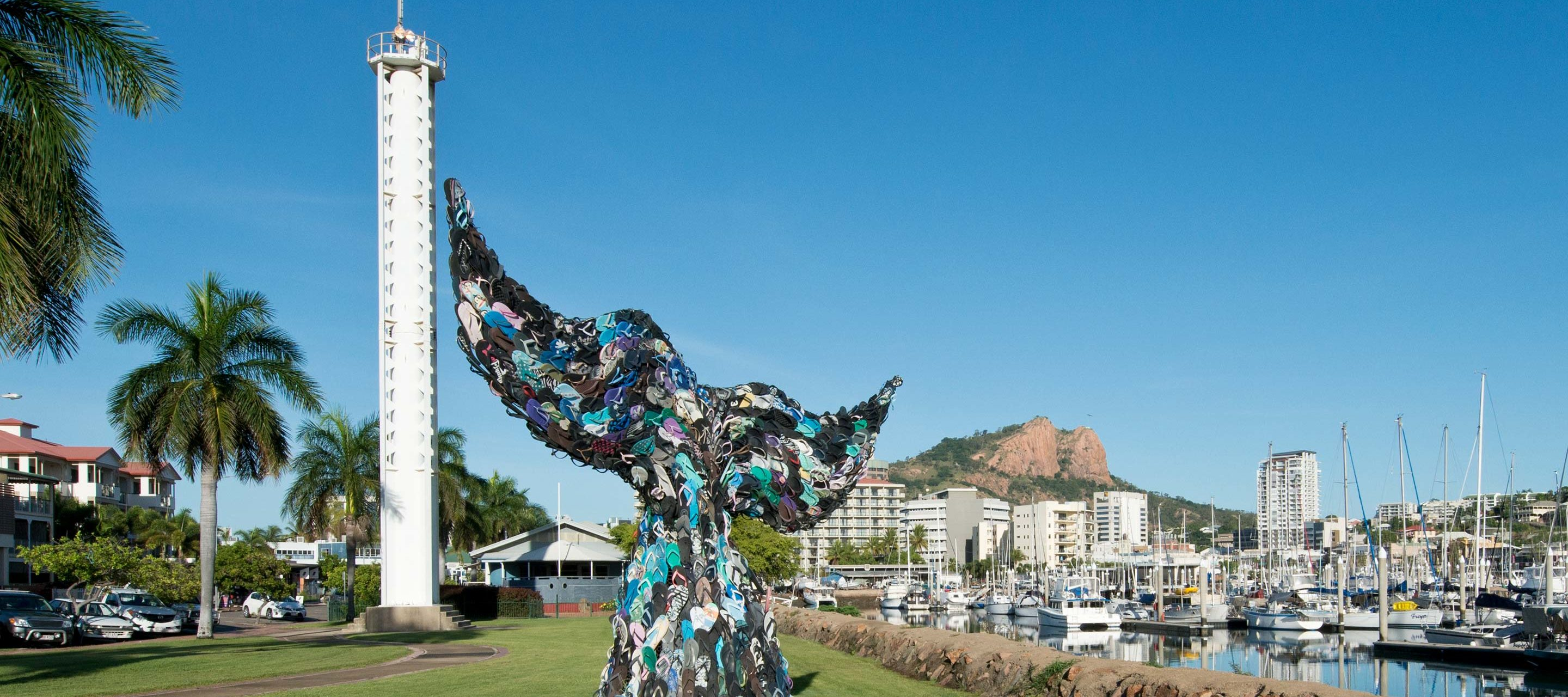 Townsville Whale Tail