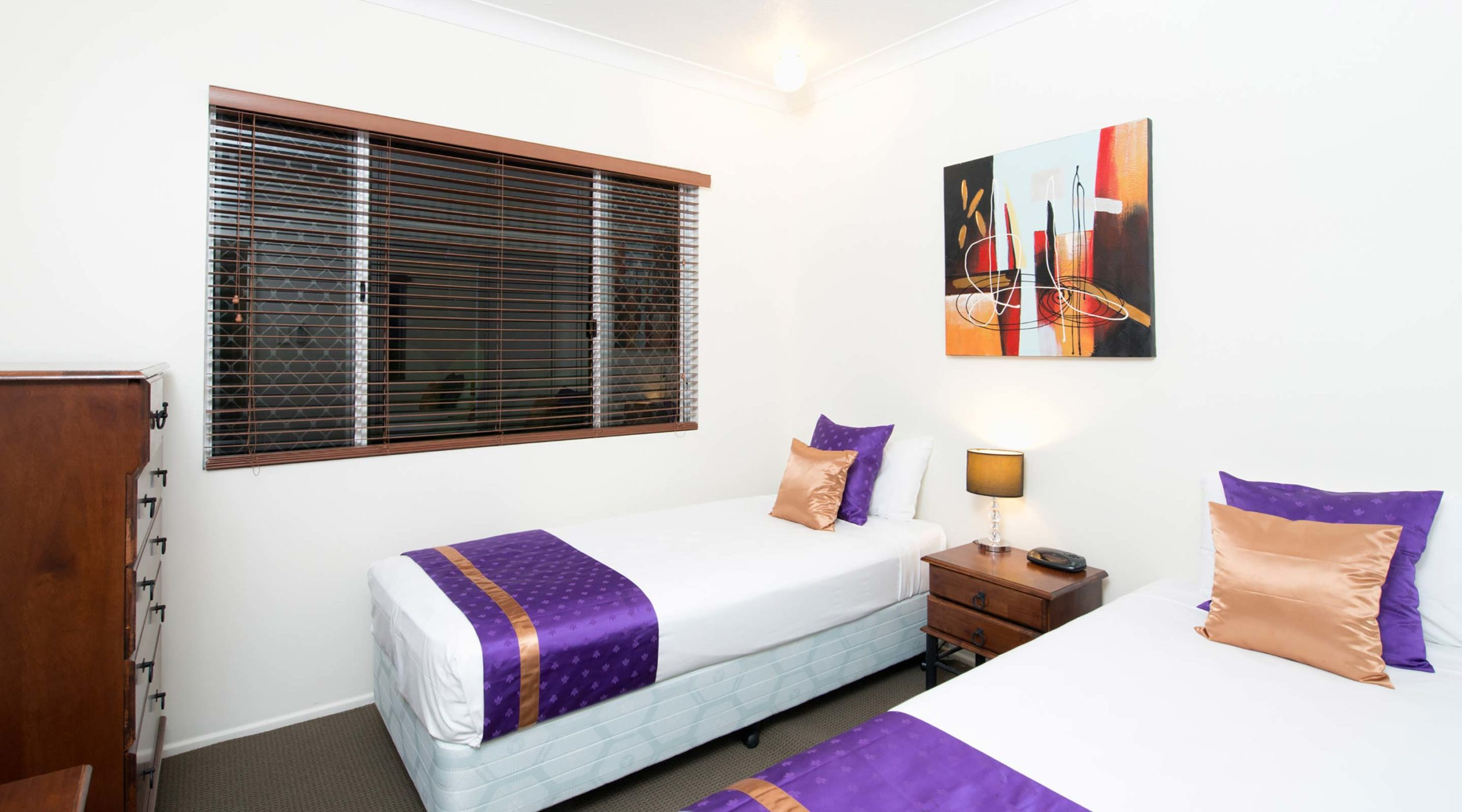 Two Bedroom Apartment Twin Bed